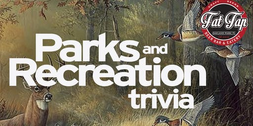 Parks and Rec Trivia at Fat Tap Beer Bar and Eatery