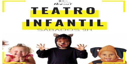 Aulas de TEATRO INFANTIL