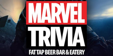 Marvel Cinematic Universe Trivia at Fat Tap Beer Bar and Eatery tickets
