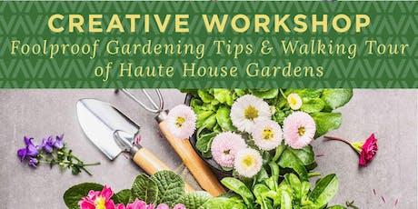 Haute House Studio: Garden Tour & Tips with Marsha Hunt tickets