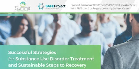 Successful Strategies for Substance Use Disorder Treatment and Sustainable Steps to Recovery tickets
