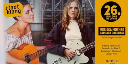 «stadtklang» Melissa Muther & Barbara Greshake / Innside Derend