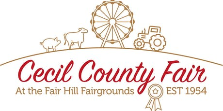 Cecil County Fair 2019 Reserved Seating - July 25 tickets