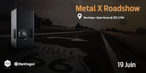 L'impression 3D métal: Roadshow Metal X Markforged à Lyon