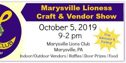 Marysville Lioness Craft and Vendor Show- 2019