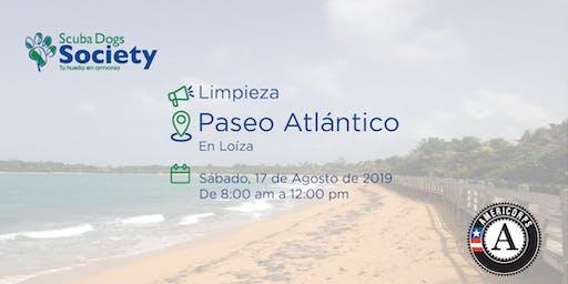 Limpieza de Costa en Paseo Atlántico