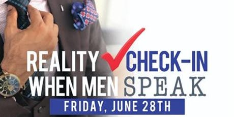 Reality Check-In:  When Men Speak tickets