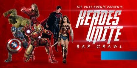 Heroes Unite Bar Crawl - Scottsdale, AZ -  September 14th tickets