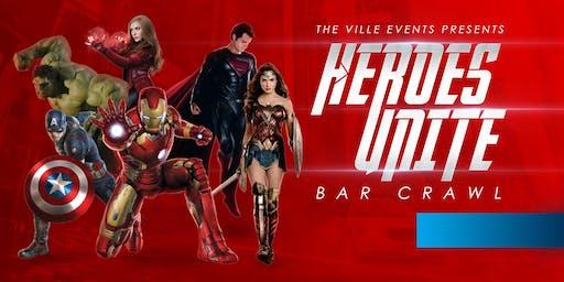 Heroes Unite Bar Crawl - Scottsdale, AZ -  September 14th