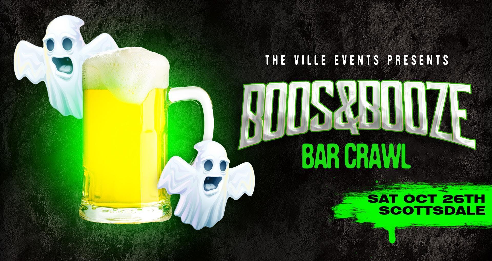 Boos & Booze Bar Crawl - Scottsdale, AZ - October 26th