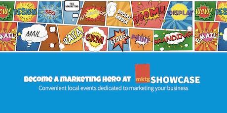 mktgSHOWCASE - The Marketing Solutions Roadshow - Southampton tickets