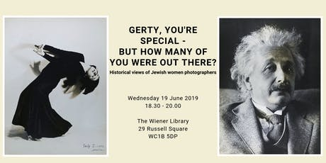 Talk: Gerty you're special - but how many of you were out there?  tickets