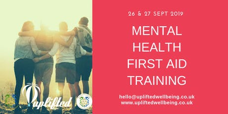 Mental Health First Aid Wales Training - MHFA tickets