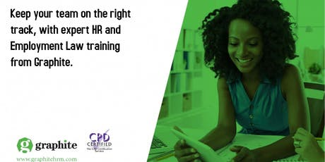 Graphite HRM - HR Essentials for Managers - CPD Certified tickets