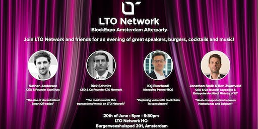 LTO Network BlockExpo Afterparty