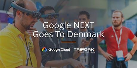 GOOGLE NEXT GOES TO DENMARK - Copenhagen tickets
