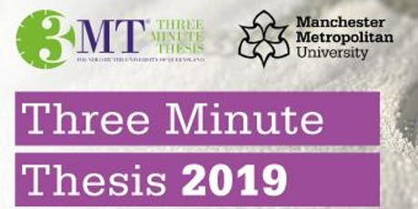 Manchester Met 3MT Final tickets