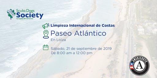 Limpieza de Costa en Paseo Atlántico (Limpieza Internacional de Costas)