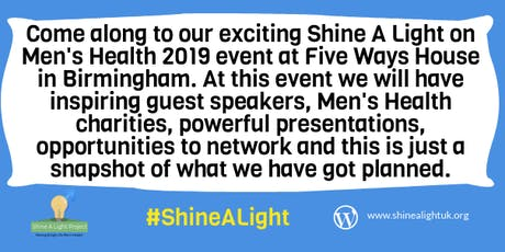 Shine A Light On Men's Health 2019 tickets