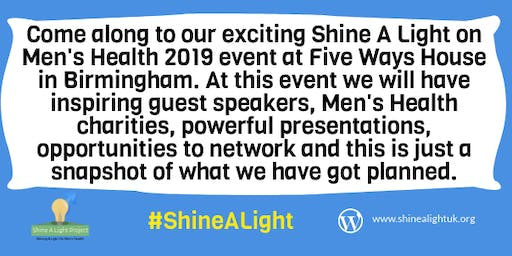 Shine A Light On Men's Health 2019