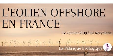 Atelier co-Ecologique - L'éolien offshore en France tickets