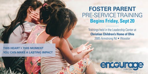 September Foster Parent Pre-Service Training