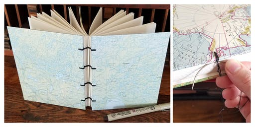 Bookbinding with Val Lucas of Bowerbox Press