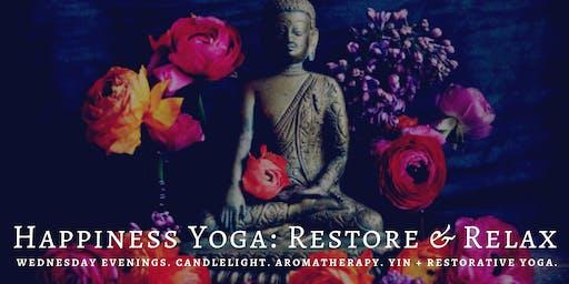 Happiness Yoga: Restore & Relax