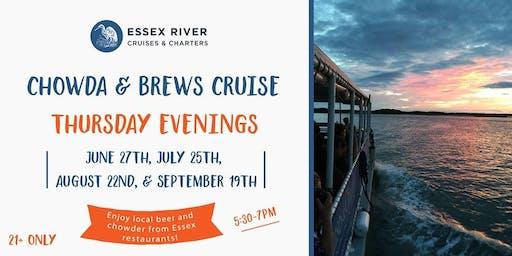 Chowder & Brews Cruise