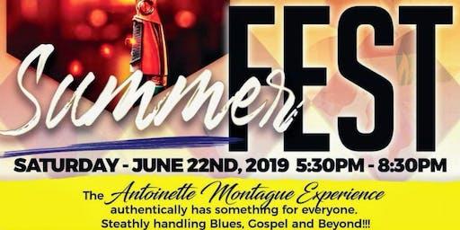 Jazz Summer Fest - The Antoinette Montague Experience