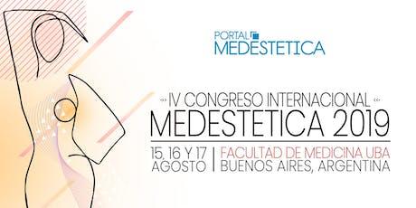 IV Congreso Internacional Medestética entradas