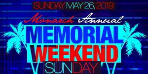 Monarch Lounge NYC Memorial Day Weekend Rooftop...