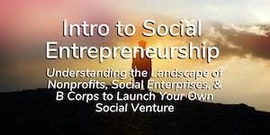 FREE Workshop: Intro to Social Entrepreneurship –...