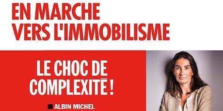 En marche vers l'immobilisme : débat en présence d'Agnès Verdier-Molinié billets