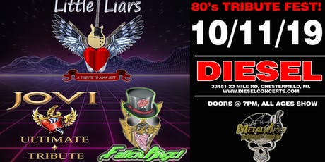 80's Tribute Fest Featuring Bon Jovi, Poison and Foreigner Tributes tickets