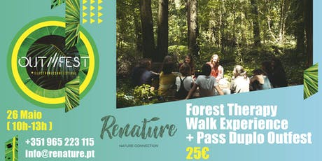OUTFEST - Forest Therapy Walk Experience  bilhetes