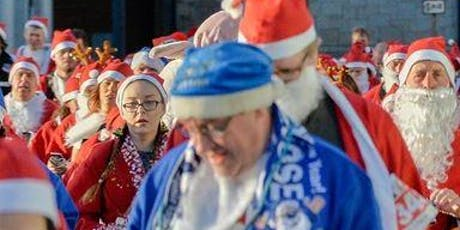 Santa Dash 2019 fundraising for Wirral Ark tickets