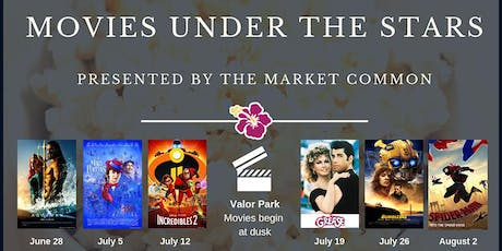The Market Common Complimentary Movies Under the Stars in Valor Park tickets