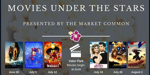 The Market Common Complimentary Movies Under the Stars in Valor Park