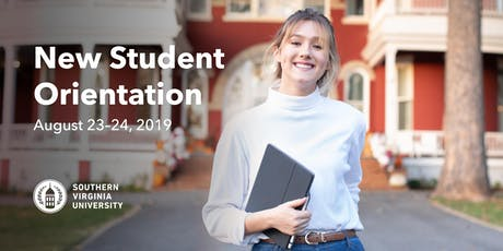 New Student Orientation - Fall 2019 tickets