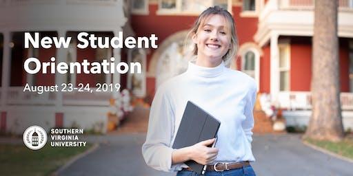 New Student Orientation - Fall 2019
