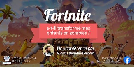 Conférence: Fortnite a-t-il transformé mes enfants en zombies ? billets
