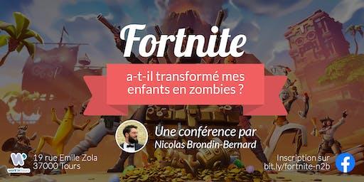 Conférence: Fortnite a-t-il transformé mes enfants en zombies ?