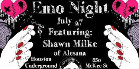 Emo night fearuring Shawn Milke tickets