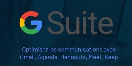Google Gmail, Agenda, Hangouts, Meet, Keep (Intermédiaire) tickets