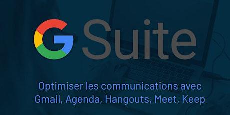 Google Gmail, Agenda, Hangouts, Meet, Keep (Intermédiaire) billets