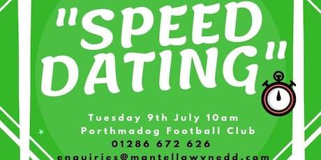 Digwyddiad 'Spîd Datio' Rhwydwaith Llesiant a Gwirfoddoli Trydydd Sector Gwynedd / Gwynedd Third Sector Well-being and Volunteering 'Speed Dating' Network Event tickets