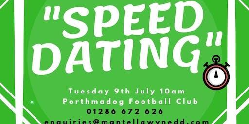 Digwyddiad 'Spîd Datio' Rhwydwaith Llesiant a Gwirfoddoli Trydydd Sector Gwynedd / Gwynedd Third Sector Well-being and Volunteering 'Speed Dating' Network Event