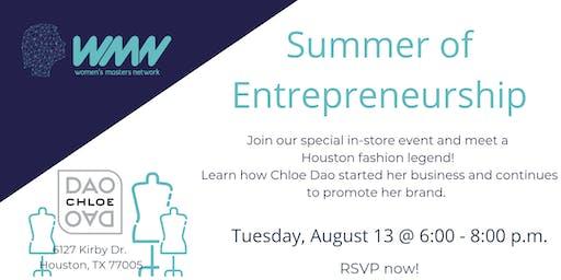 WMN August Networking Event l Summer of Entrepreneurship