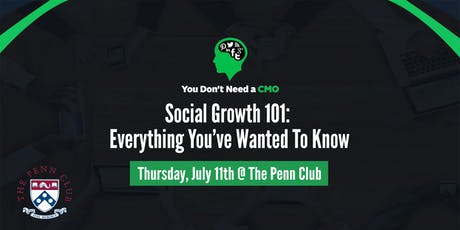 Social Growth 101: Everything You've Wanted To Know tickets